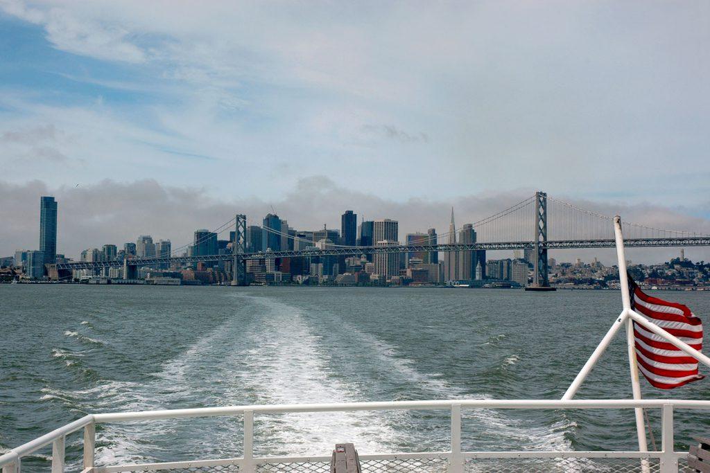 Die Skyline von San Francisco