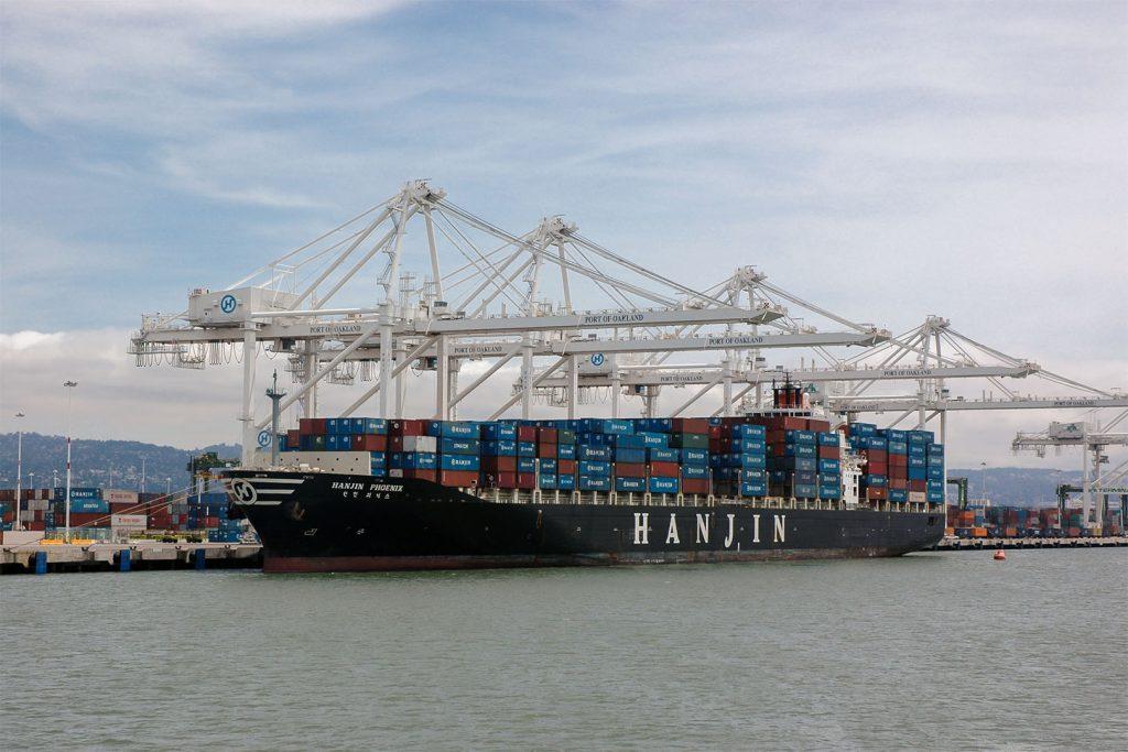 Der Hafen von Oakland