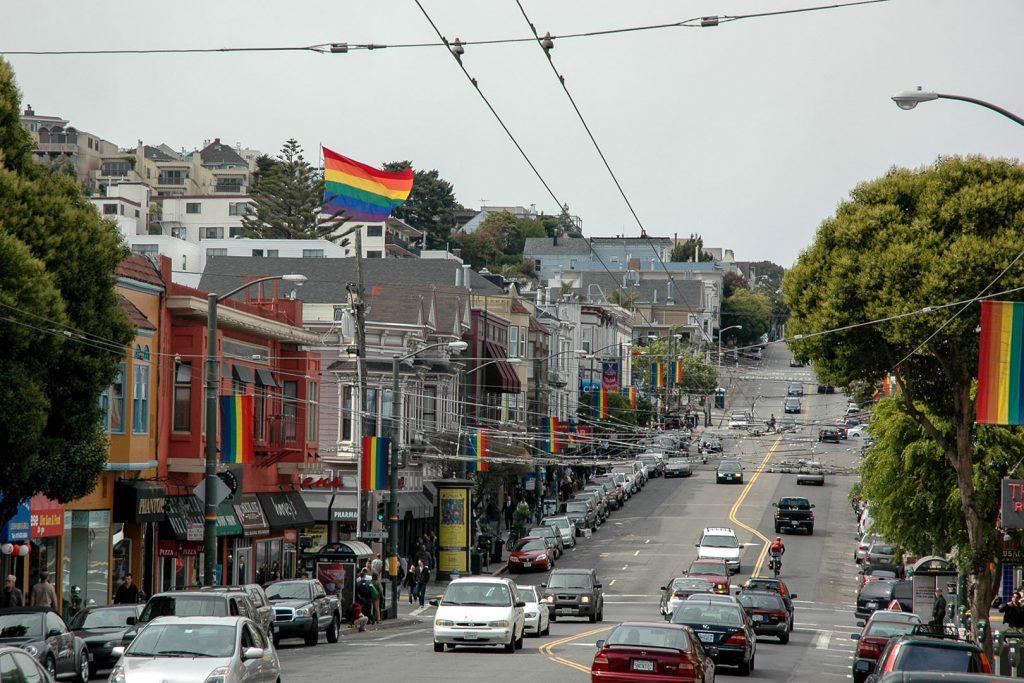 Blick über die Castro Stree