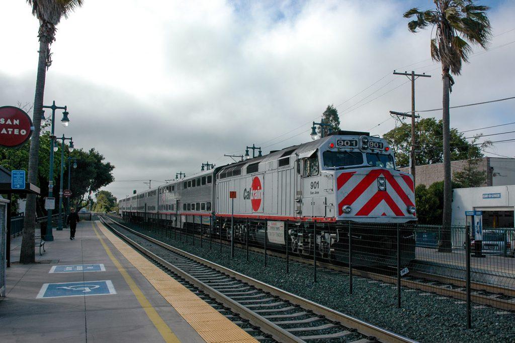 Ein typischer Caltrain Zug