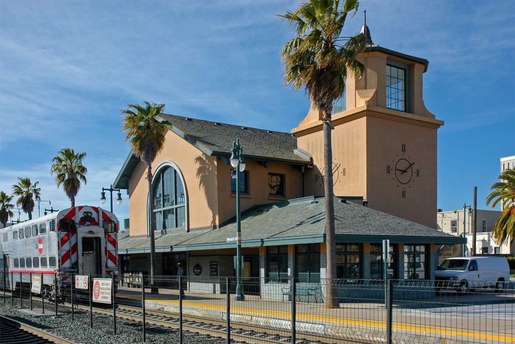 Der Banhof in San Mateo