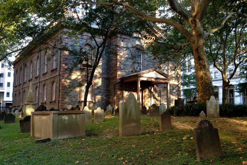 St Pauls Chapel am Ground Zero